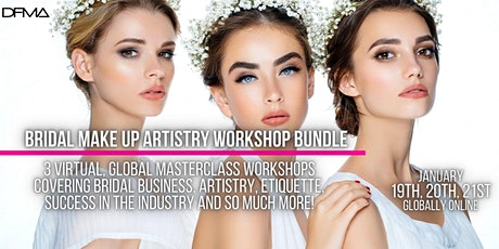 BRIDAL MAKE UP ARTISTRY WORKSHOP BUNDLE tickets