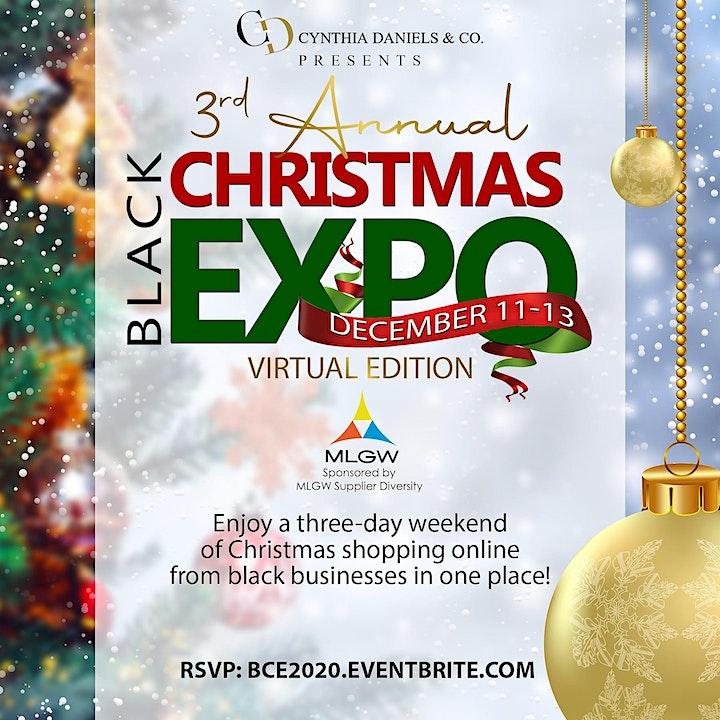 Virtual Black Christmas Expo image