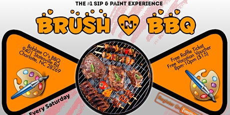 Saturdays: Brush & BBQ (Sip & Paint) tickets