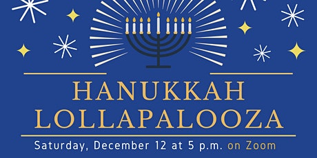 Hanukkah Lollapalooza tickets