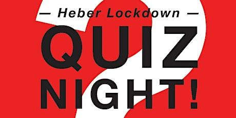 Heber Lockdown Quiz Night tickets