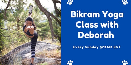 Bikram Yoga Class with Deborah Small-90 min tickets