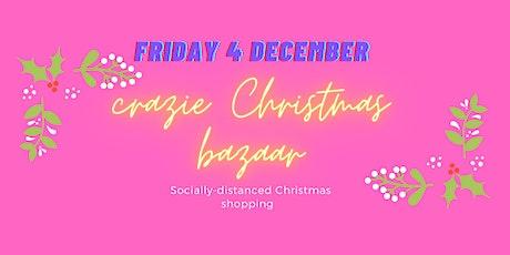 Crazie Christmas Bazaar, Crazies Hill Village Hall, 10 minutes from Henley. tickets