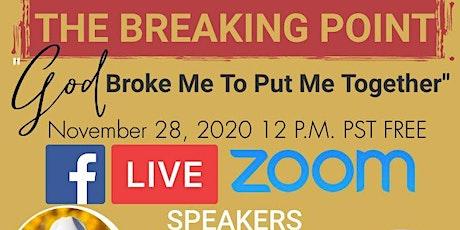 God Broke Me To Put Me Together tickets
