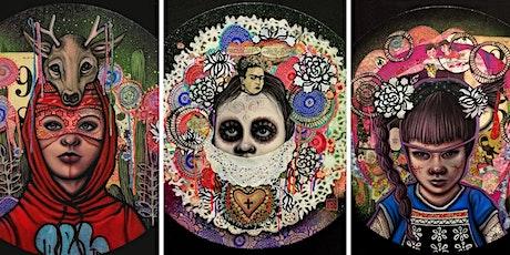 Cafe Con Arte: Los Rostros Ocutlos The Hidden Faces by Angelica Contreras tickets