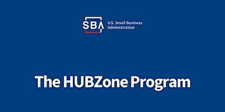 The HUBZone Program tickets