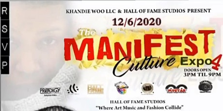 The 'Manifest ' Culture expo 4 tickets