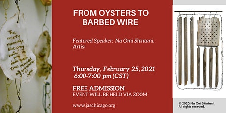 From Oysters to Barbed Wire tickets