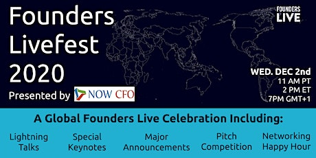 Founders Livefest 2020 -  presented by NOW CFO tickets