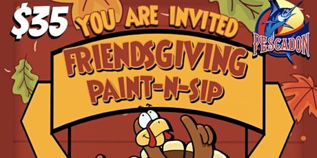 Friends-Giving  Paint-N-Sip tickets