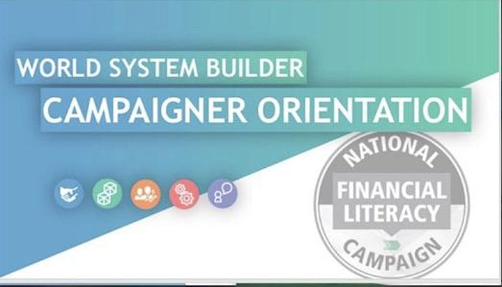 OPPORTUNITY 4 Financial Literacy Campaigner  USA/CANADA image