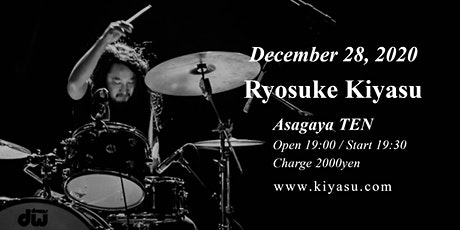 Ryosuke Kiyasu drums solo show - December 28,2020 tickets