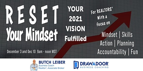 RESET Your Mindset - Your 2021 Vision Fulfilled tickets