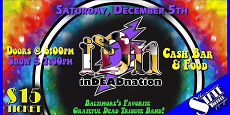 InDEADnation Grateful Dead Tribute Band tickets