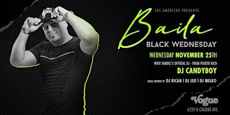 Blackout Wednesday Baila tickets