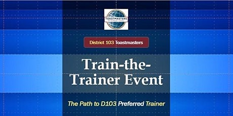 D103 VIRTUAL Train-the-Trainer Event tickets
