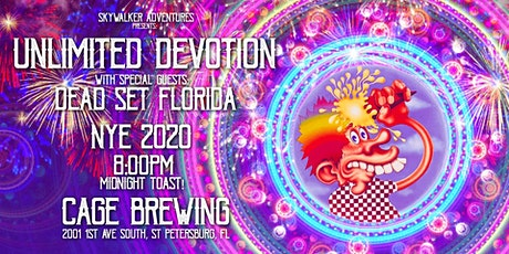 New Years Eve with Unlimited Devotion and Dead Set Florida @ Cage Brewing tickets