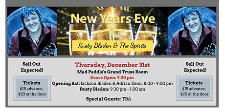 New Years Eve Party - Mad Paddle Grand Truss Room tickets