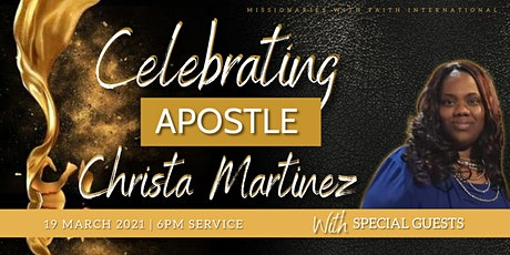 Apostle Christa Martinez Birthday Celebration tickets