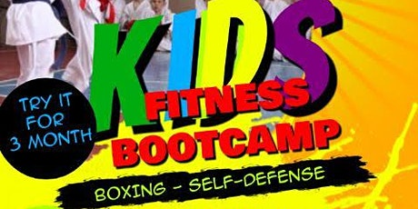 Kids Boxing & Self-Defense Class tickets