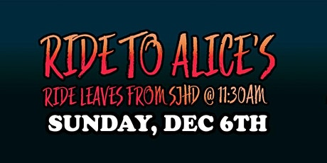 Ride to Alice's! tickets