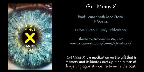 Girl Minus X Book Launch tickets