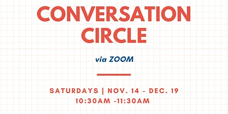 BNH Virtual EAL Conversation Circle (Burnaby, BC) tickets