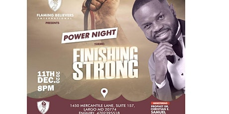 PROPHETIC POWER NIGHT tickets