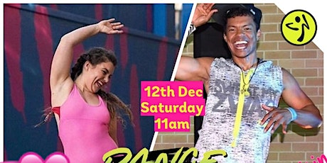 Zumba Xmas Party with Gilson & Rachell 2020 tickets
