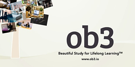 Webinar:  Introduction to OB3 NOTPUBLISHED tickets