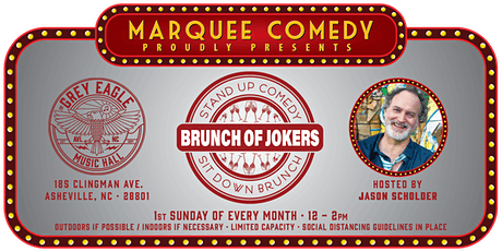 PATIO SHOW: Brunch of Jokers