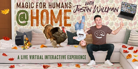 MAGIC FOR HUMANS (AT HOME) with Justin Willman tickets