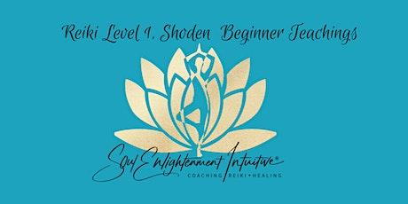 Reiki Level 1, Okuden- Beginner Teachings tickets