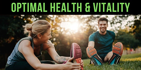 How to Optimize Your Health & Vitality Masterclass tickets