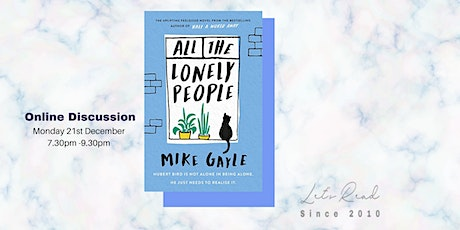 Let's Read: All The Lonely People by Mike Gayle tickets