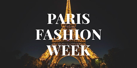 Paris Fashion Week Fashion Shows & Events March 2021 billets