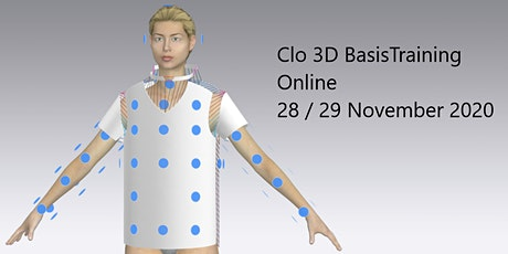 Clo 3D Online Basis Schulung Tickets