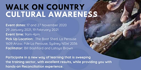 Walk on Country Cultural Awareness Training tickets
