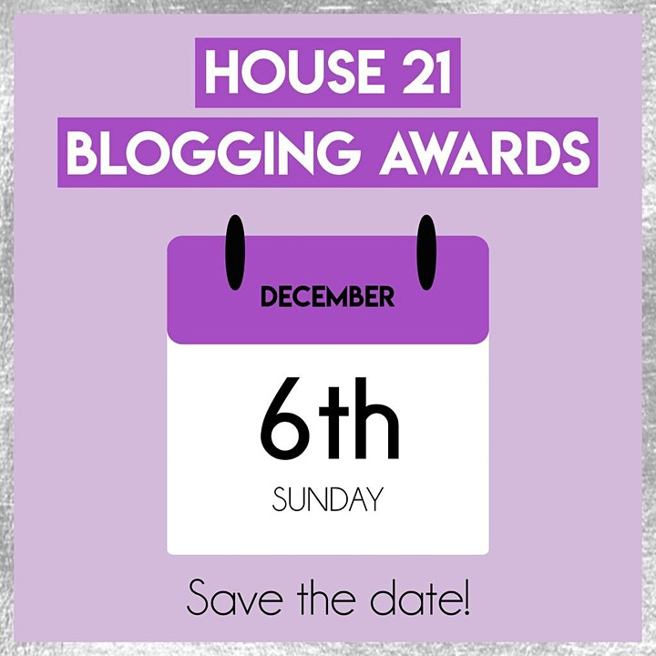 House 21 Blogging Awards image