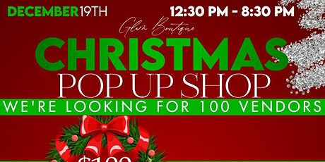 Glam Boutique Christmas POP UP SHOP tickets