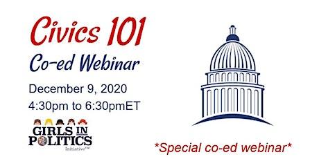 Civics 101 Co-ed Webinar