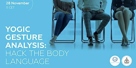 Hack the Body Language: Yogic Gesture Analysis tickets