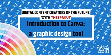 Introduction to Canva: a graphic design tool tickets