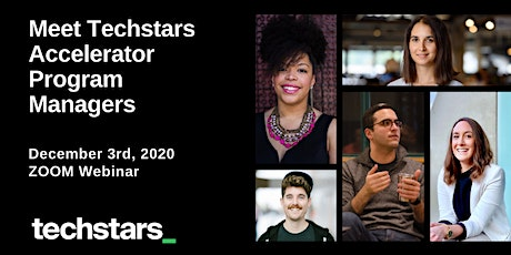 Meet Techstars Accelerator Program Managers tickets