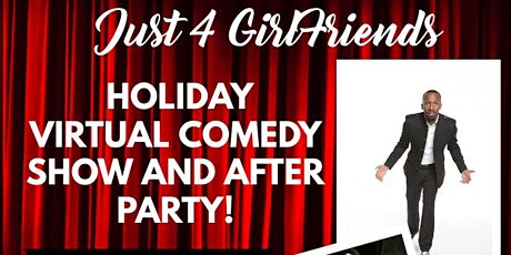 J4G's Virtual Holiday Comedy Show and After Party tickets