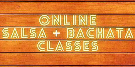 Online Salsa & Bachata classes with Cali Swing tickets