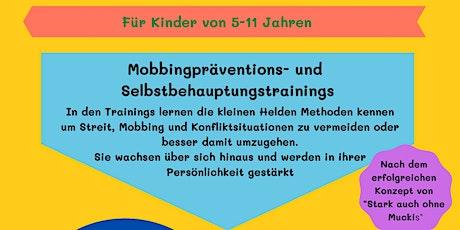 Mobbingpräventions -und Selbstbehauptungskurs für Kinder Tickets