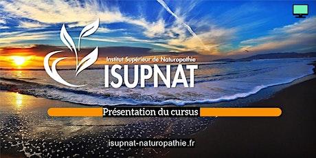 Présentation du cursus ISUPNAT billets