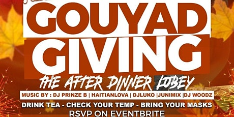 GOUYADGIVING tickets