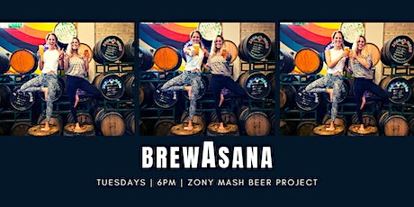 BrewAsana: Yoga + Beer tickets